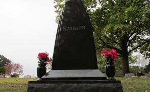 Monolith Stone at Grandview Cemetery