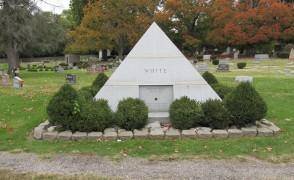 Pyramid Design at Highland Lawn Cemetery